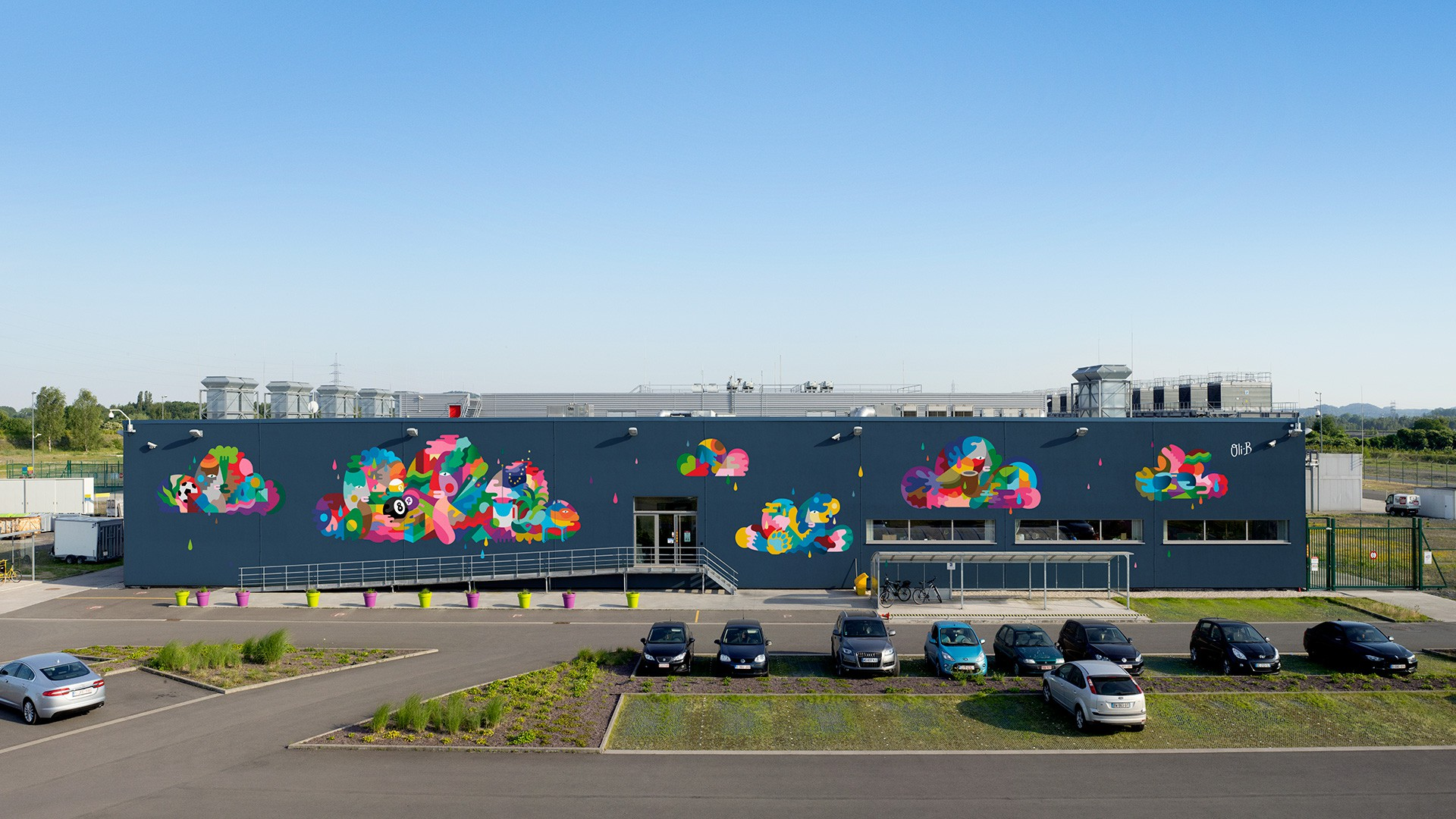 Data Center Mural Project